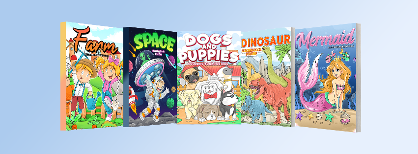 coloring books for kids